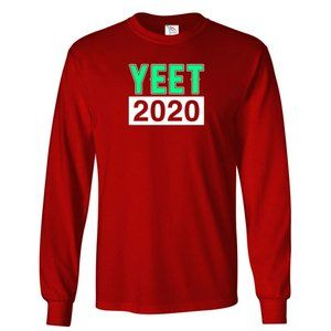 Youth Kids YEET 2020 T-Shirt Long Sleeve